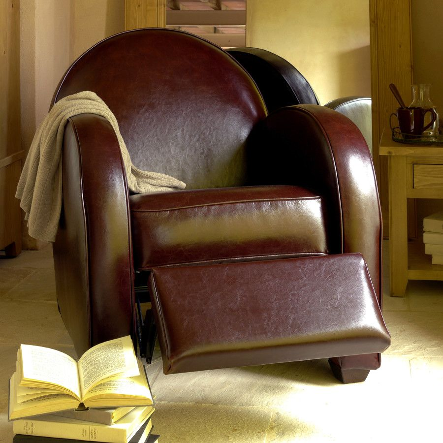 Fauteuil Club Steed Industrial Loft Lofts And Salons - Fauteuil club relax