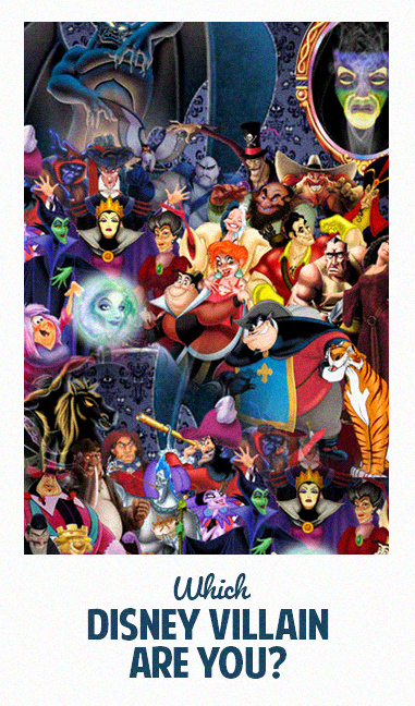 Which Disney Villain Are You?   Disney & More   Disney character
