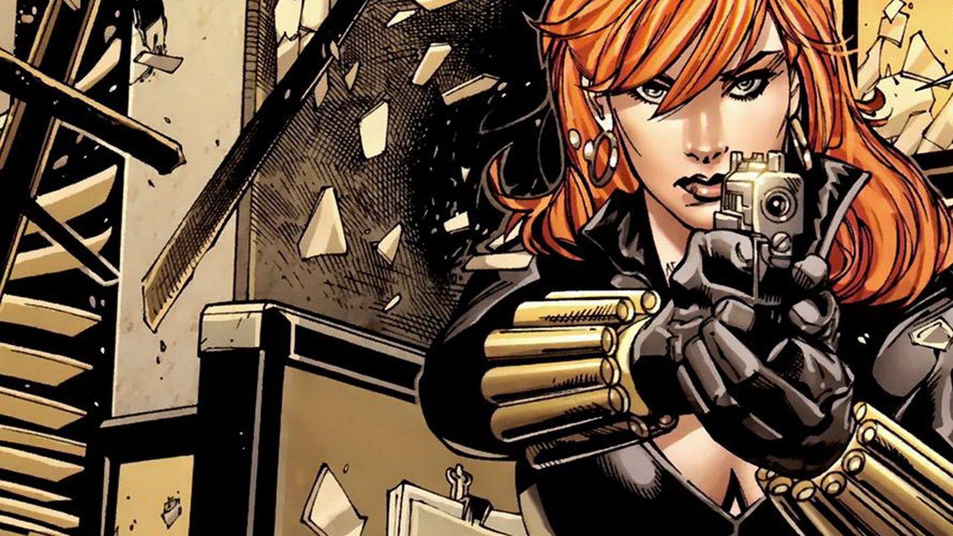 black widow comic strip - photo #31