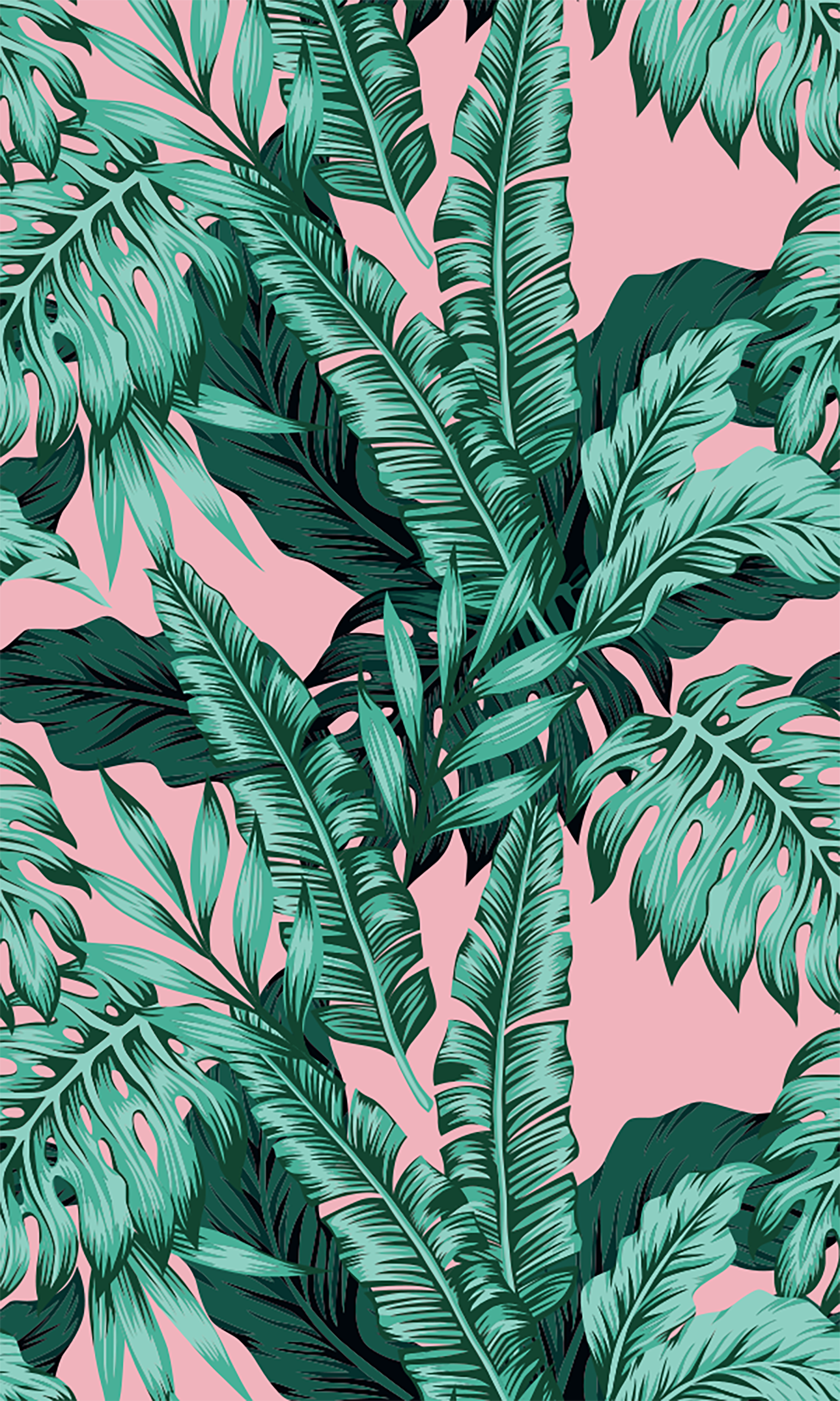 Tropical Pink Background Background Phone Backgrounds Cute Backgrounds