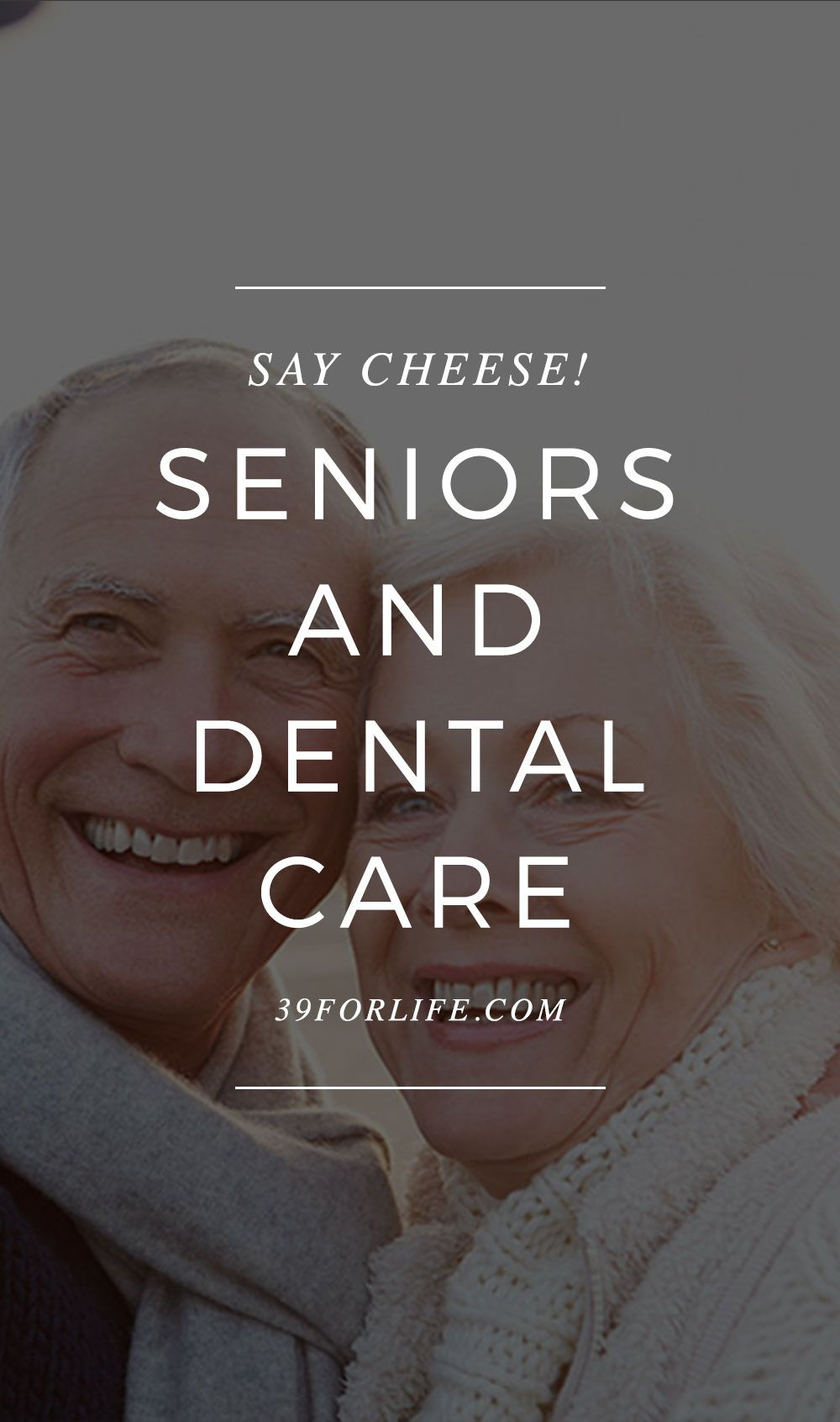 Seniors and dental care it's something worth smiling