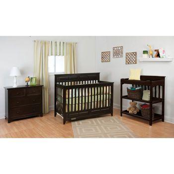 Costco Manchester 3 Piece Jamocha Crib Set Cribs Nursery