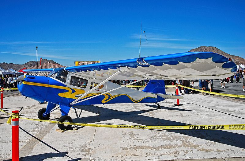 N3555T 1974 Taylorcraft F19 C/N F014 Aircraft painting