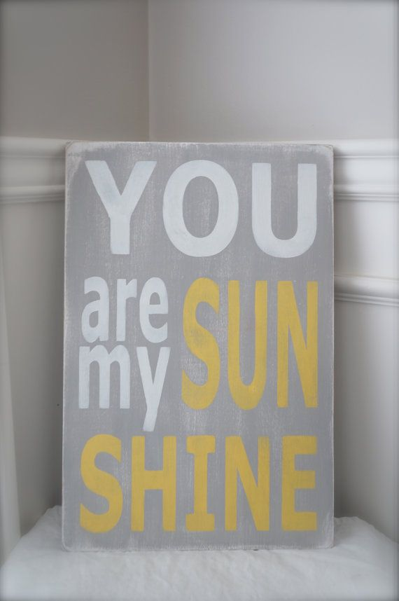 You Are My Sunshine, Wall Art, Custom Wood Sign, Wood Wall Art, Sign, Wood Sign, Vintage, Quote Sign #oldpalletsforcrafting