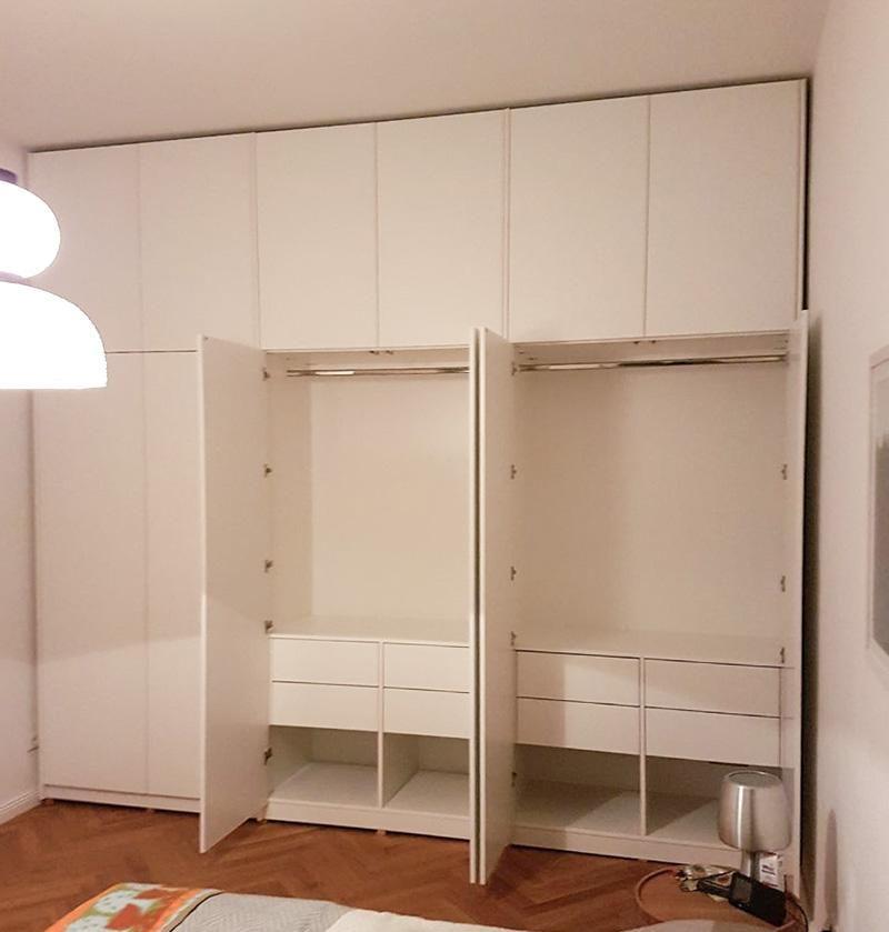Schlafzimmerschrank In Weiss Schlafzimmer Schrank Schrank Renovierung Schrank