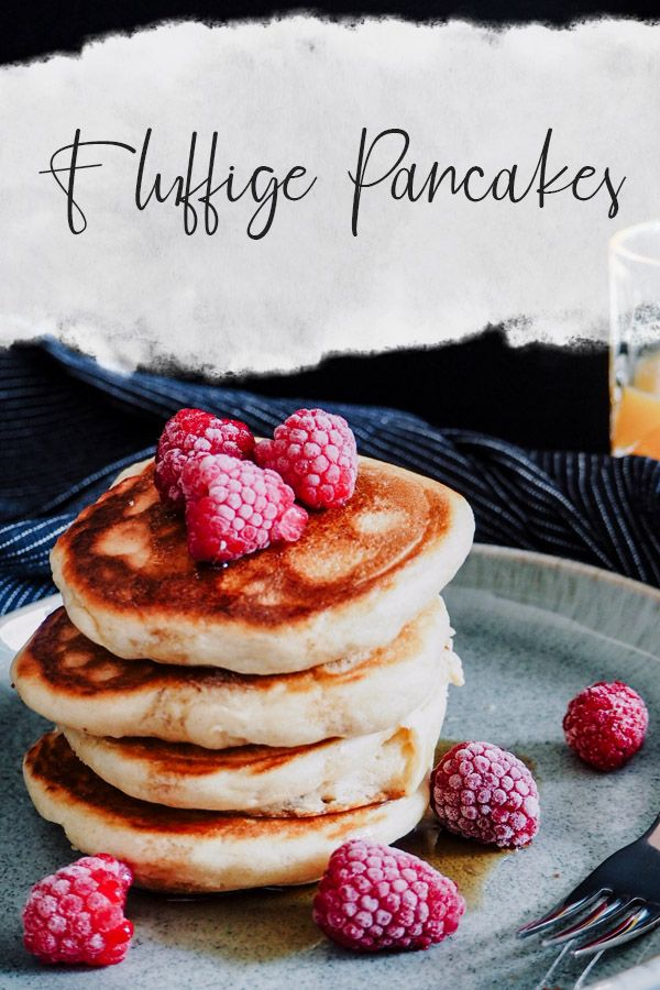 Fluffige Pancakes