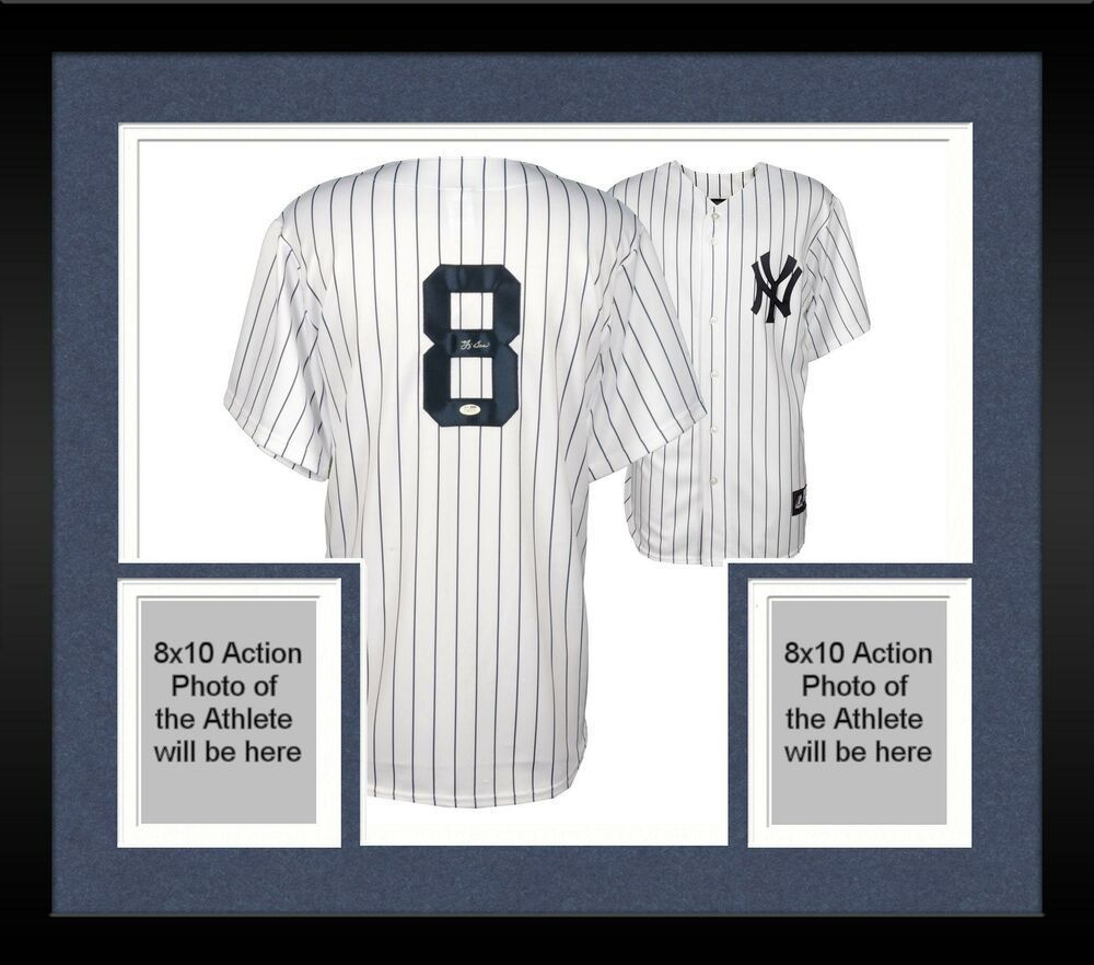Framed Yogi Berra New York Yankees Autographed Authentic Jersey Jsa Certified Sportsmemorabilia Autograph Jersey New York Yankees Yogi Berra Framed Jersey