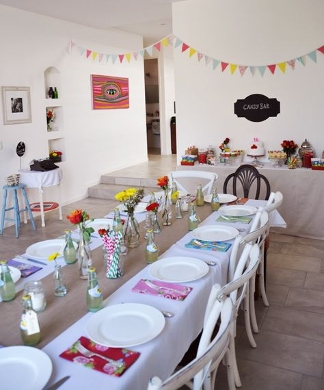 A Vintage Themed Sweet 16 Party