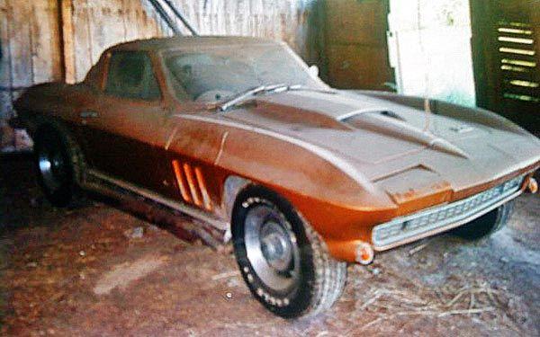 1966 Corvette Found In A UK Barn Junkyard CarsFind