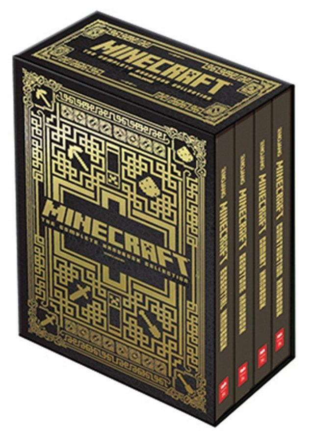 Minecraft Handbook Set (individual ones too)  Hot Holiday Christmas Toys Son's pick  http://shadowbinders.com/top-holiday-toys-2014-boys-toys/