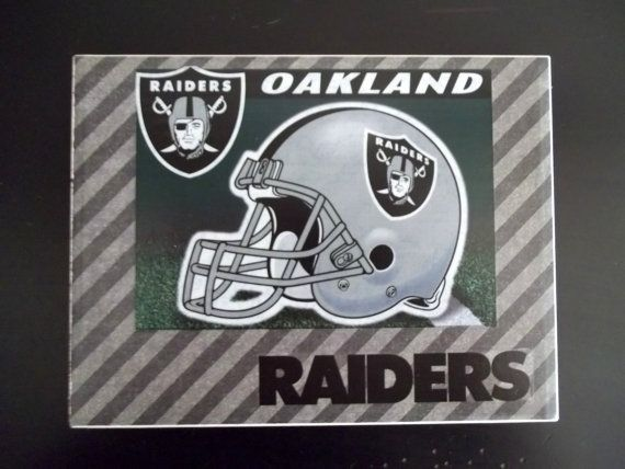 New Twin Sides Pillow Case Oakland Raiders Football With Ur Name And Numbers