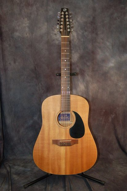 seagull s1 1992 natural cedar 12 string guitar acoustic electric case give us a. Black Bedroom Furniture Sets. Home Design Ideas