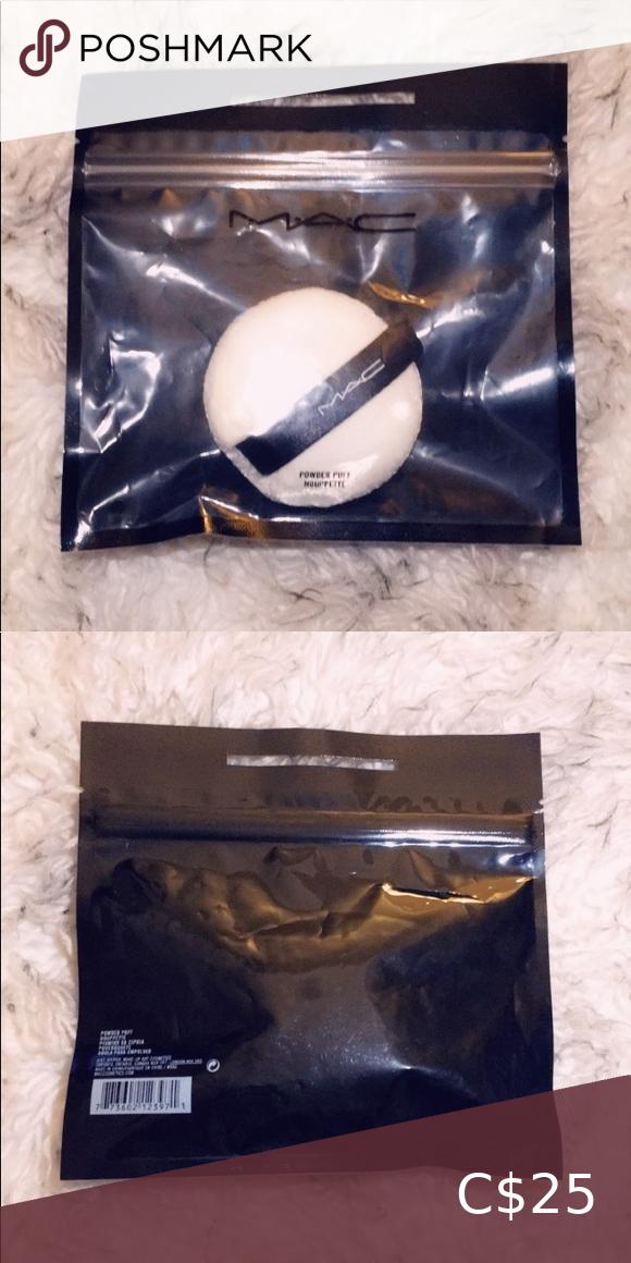 MAC Powder Puff in 2020 Powder puff, Mac powder, Makeup