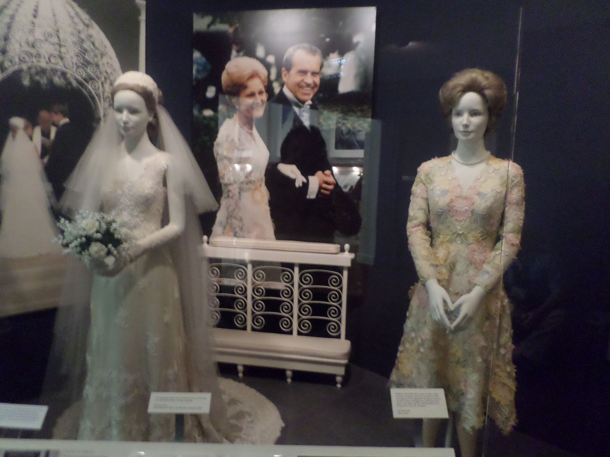 The Wedding Gown Of Tricia Nixon And Pat Nixon S Mother Of The