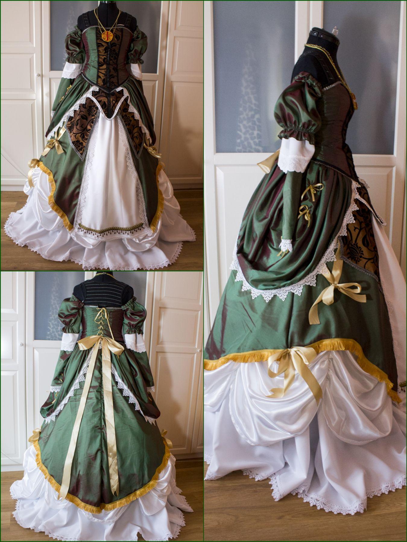 Fertiges Elise Kleid 3 18th Century Fashion Fashion Rococo Dress