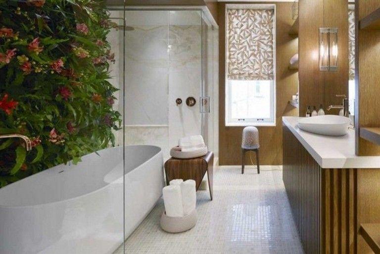 38 Inspiring Urban Modern Bath Decoration Trending This Year