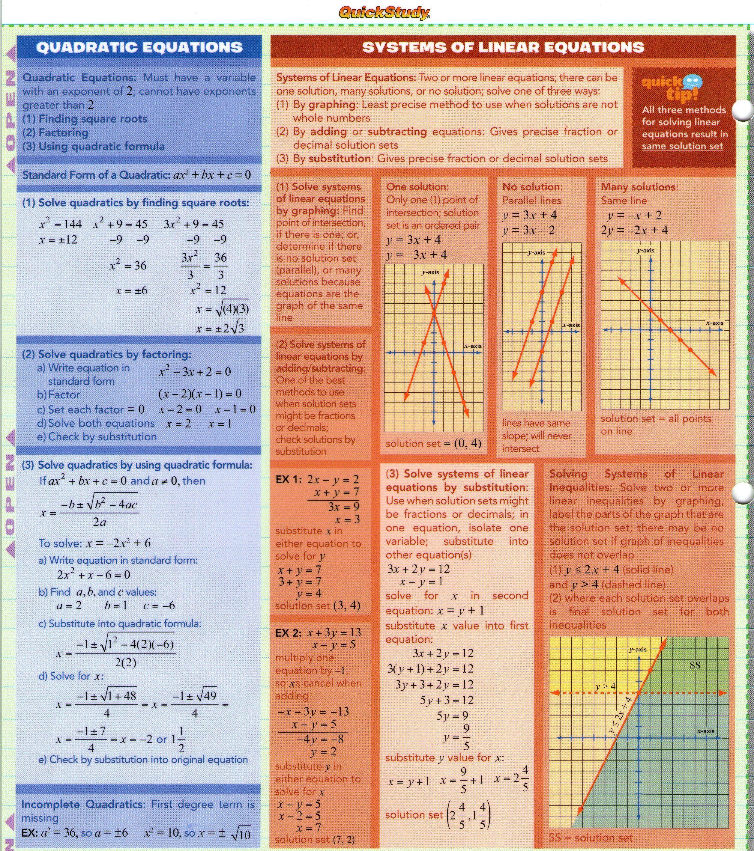 Algebra Fundamentals 4