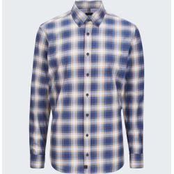 Photo of Shirt Cobe, dark blue checkered Strellson