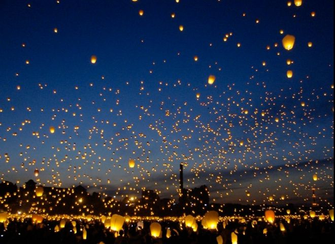 lanterns midsummer 39 s night festival poland one of