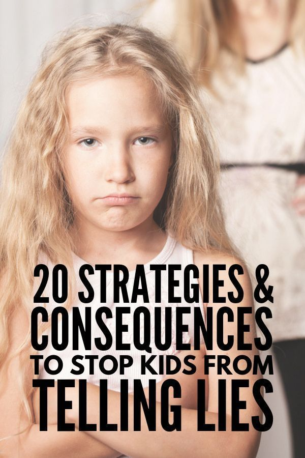 How to Stop Kids From Lying | My children will NEVER lie, right? WRONG! Lying is a natural part of child development, and this collection of 20 simple parenting tips, ideas, strategies, and consequences that don't involve punishment will teach parents (and teachers) how to stop kids lying and how to encourage truthful and respectful behavior at home and in the classroom. #parentingtips #kidslying #consequencesforkids