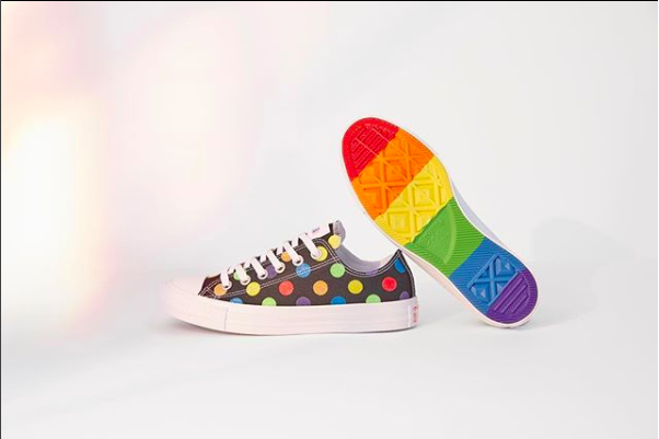 CONVERSE PRIDE X MILEY CYRUS CHUCK TAYLOR ALL STAR LOW TOP - BLACK ... beafb7d08