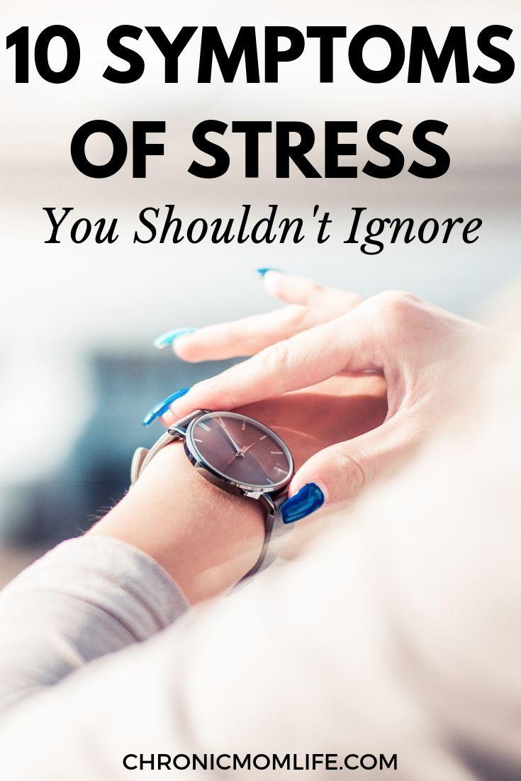 10 Symptoms of Stress You Should Know | Stress symptoms ...