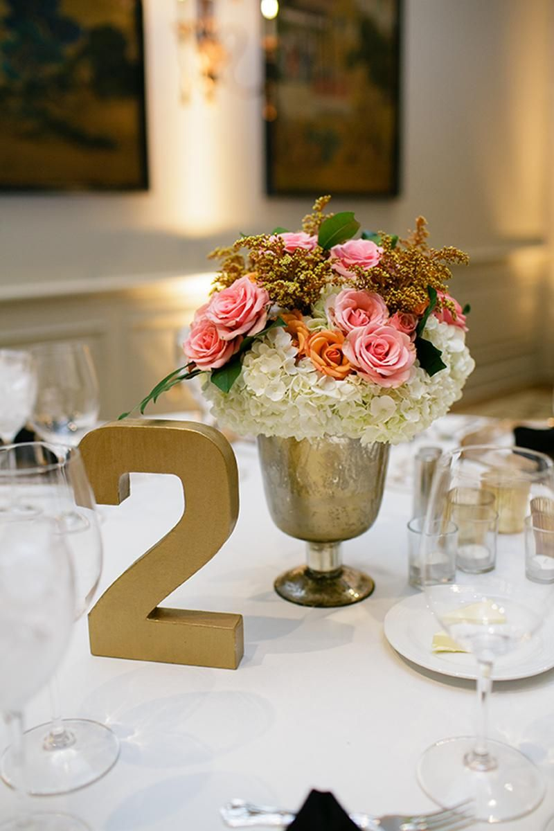 Unique wedding decoration ideas for reception  I like the big table number  Wedding Ideas  Pinterest  Brides