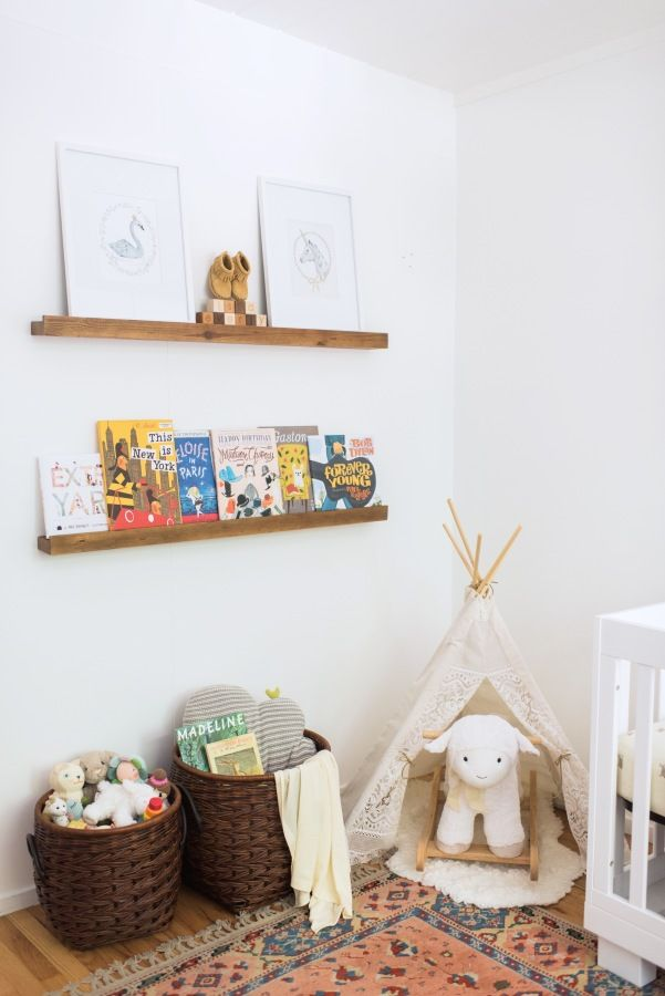 Tips on saving space in your baby nursery: http://www.stylemepretty.com/living/2016/09/12/small-nursery-got-you-down-try-these-space-saving-tips/ Photography: Sarah Box - http://www.sarahboxphotography.com/