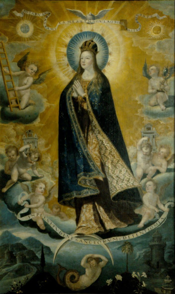 Arte Wikipedia It Baltasar De Echave Ibía Tota Pulcra The Immaculate Conception