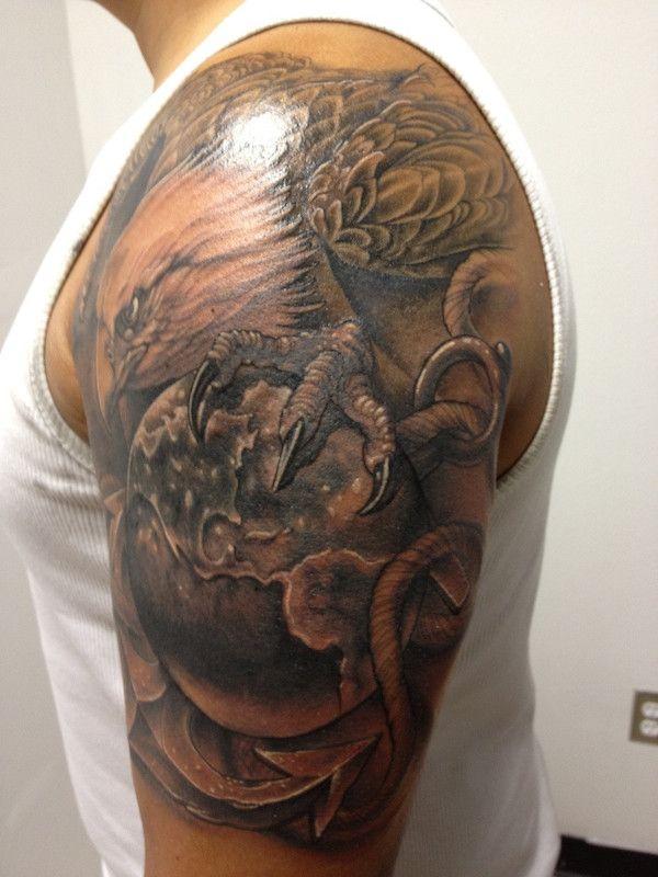 Devil Dog Ink: 104 Insanely Dope Marine Corps Tattoos ...