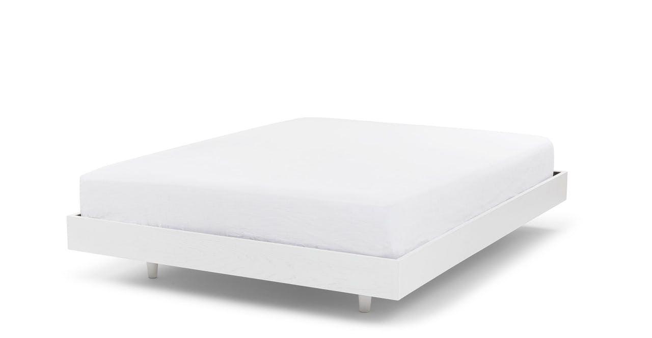 Basi White King Bed Frame King Bed Frame Queen Bed Frame White