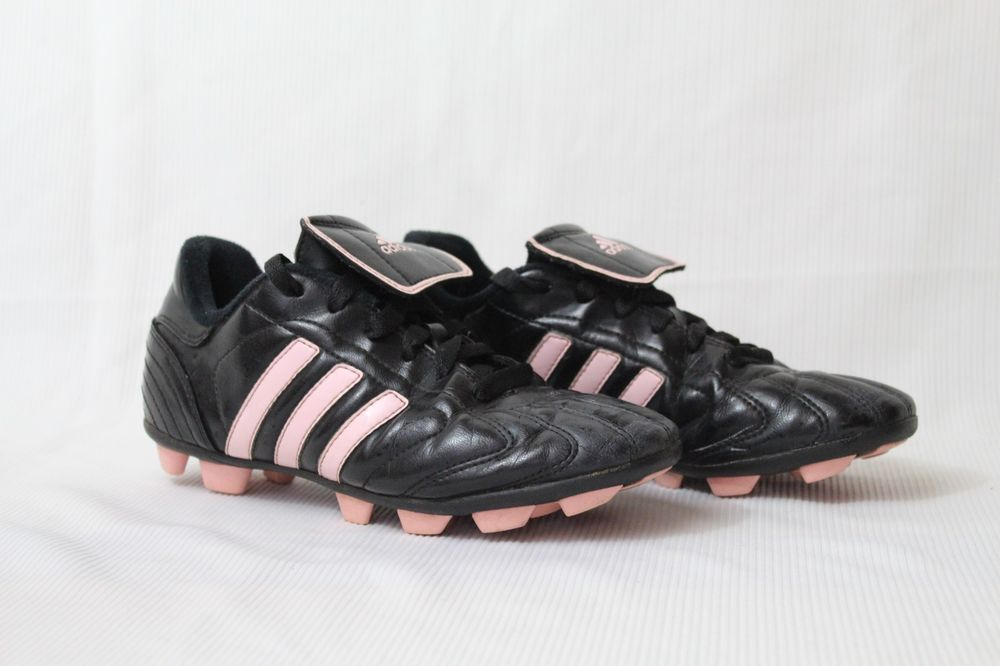 Adidas Youth Girls Soccer Cleats Size 3 5 Traxion Black Light Pink Adidas Girls Soccer Cleats Girls Soccer Soccer Cleats