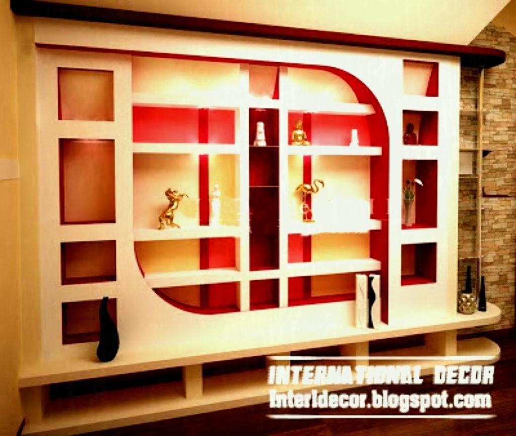House Hall Self Design Images Wall Showcase Design Interior