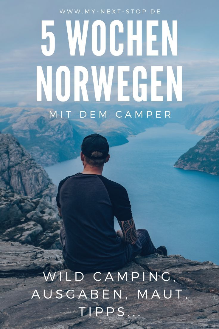 Norwegen Roadtrip • Wild Camping • Highlights • Ausgaben • Route #aroundtheworldtrips