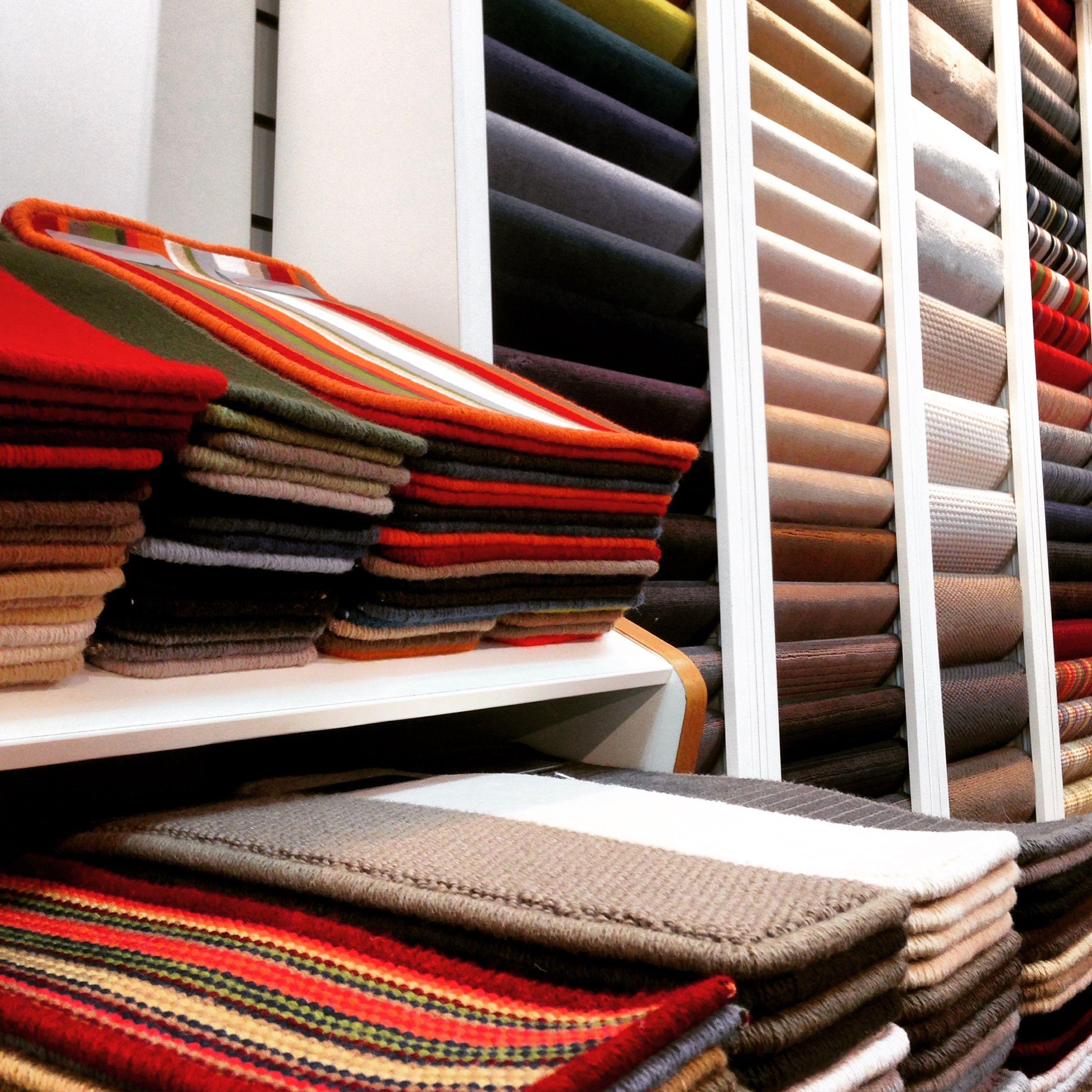 Carpet Sample Lectern Display Inc Sliding Draw Wall Units For Louis De Poortere Display Furniture Showroom Design Fabric Display