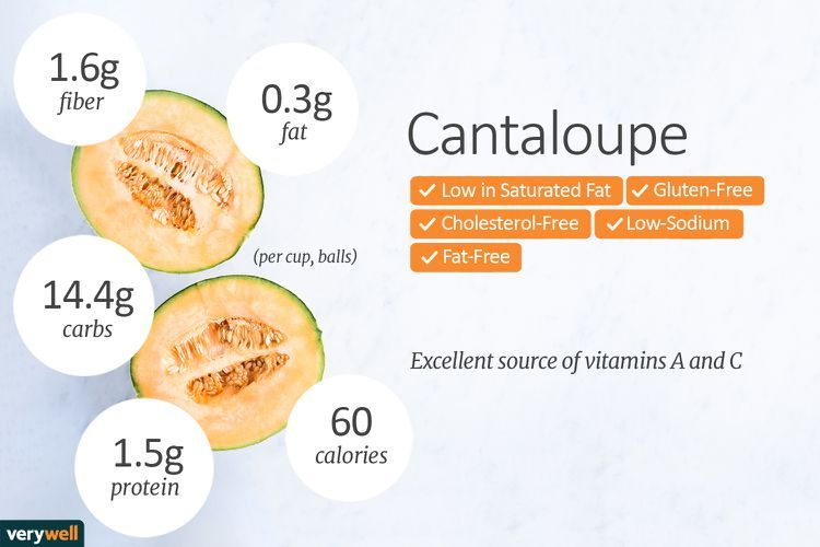 How To Safely Eat Cantaloupe Cantaloupe Nutrition Facts Nutrition Facts Cantaloupe Calories