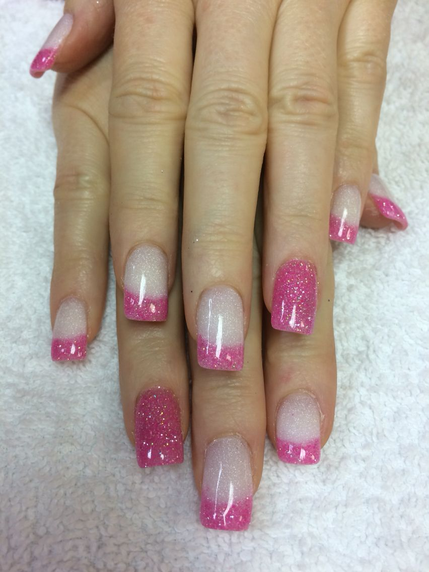 Valentine\'s SNS nails. Sugar and spice. | Nails | Pinterest ...