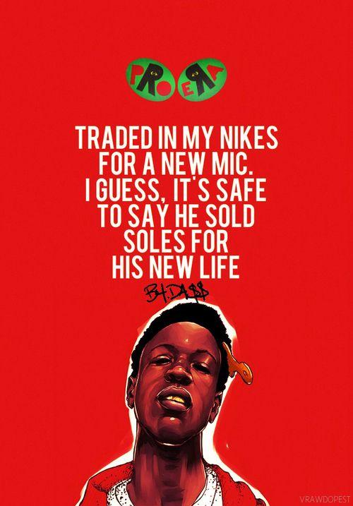 Joey Bada$$ | Rap quotes, Hip hop quotes, Music terms