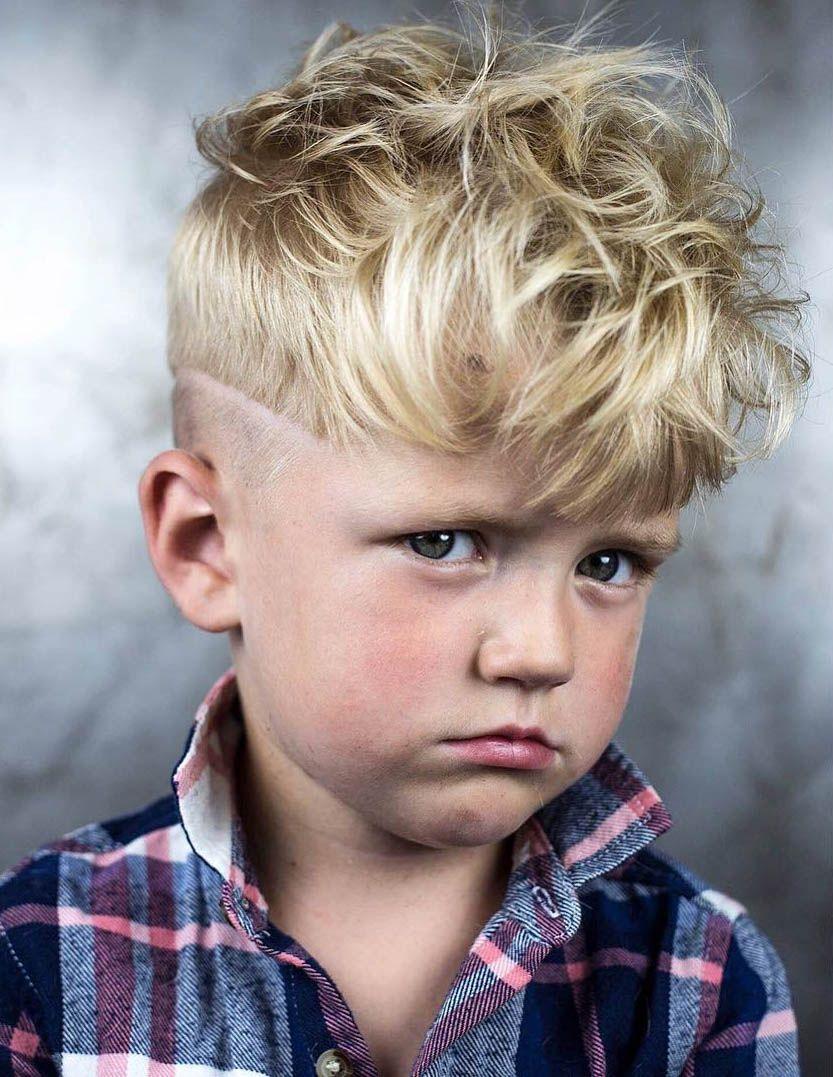 Mit locken jungs Jungs Frisuren