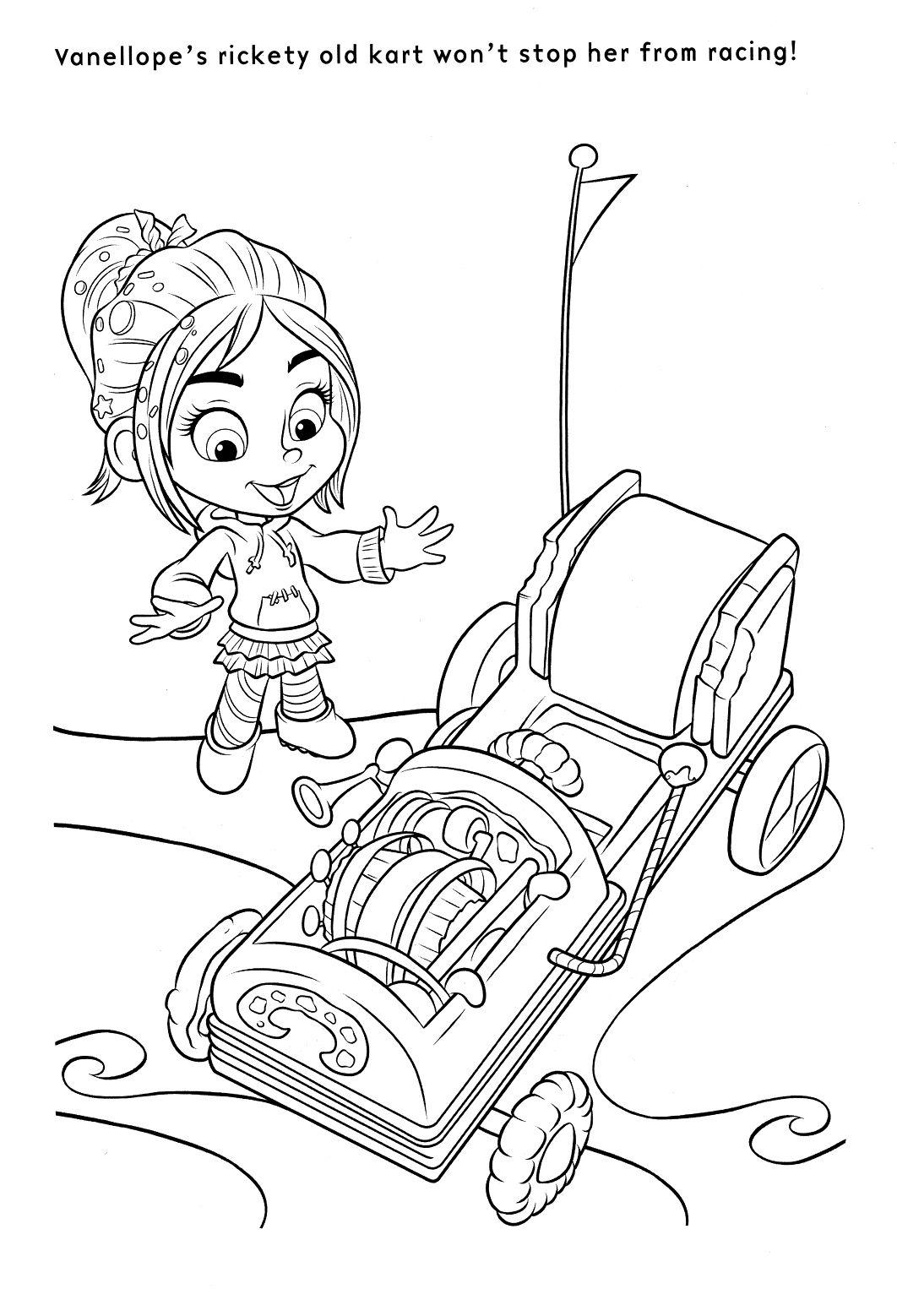 coloriage le monde de ralph  Disney coloring pages, Cartoon