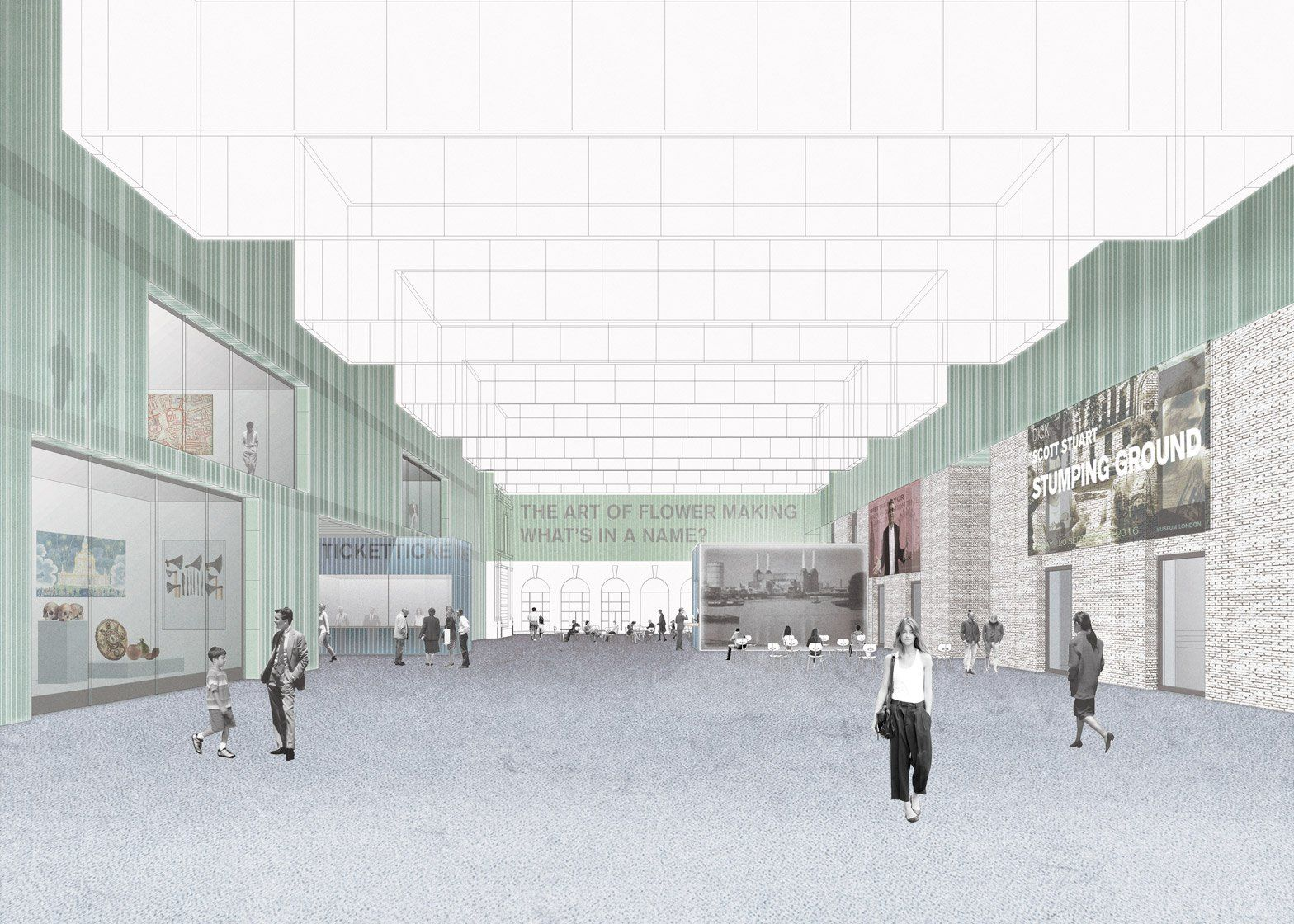 Architecture · Competition Entry For The New Museum Of London ...