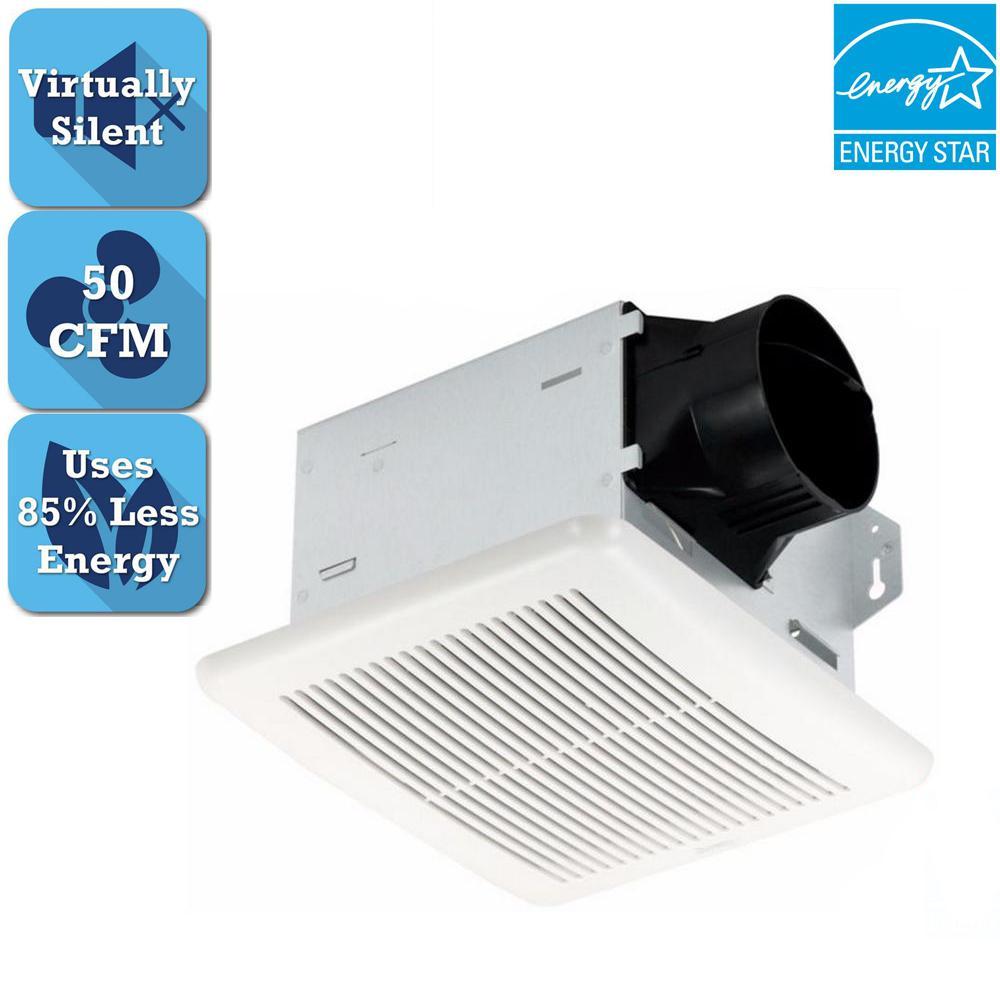 Delta Breez Integrity Series 50 Cfm Wall Or Ceiling Bathroom