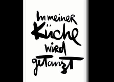 """Kunstdruck im modernem handwriting Stil mit schönem Statement """"Heute ist mein Lieblingstag"""". Das Motiv sorgt für gute Laune, und das an jedem Tag!"""