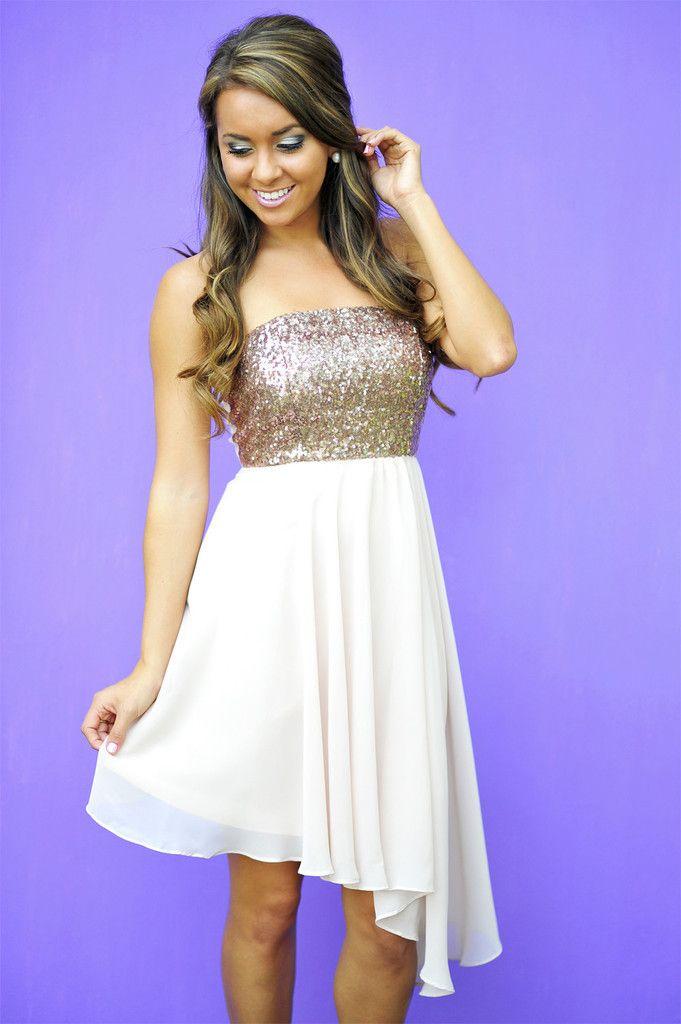 Minuet: Sparkle And Shine Dress: Bronze | Dresses | Pinterest