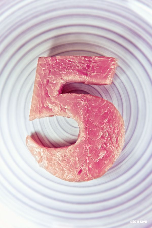 OMG... you can cut meat into shapes. I never thought of that before!