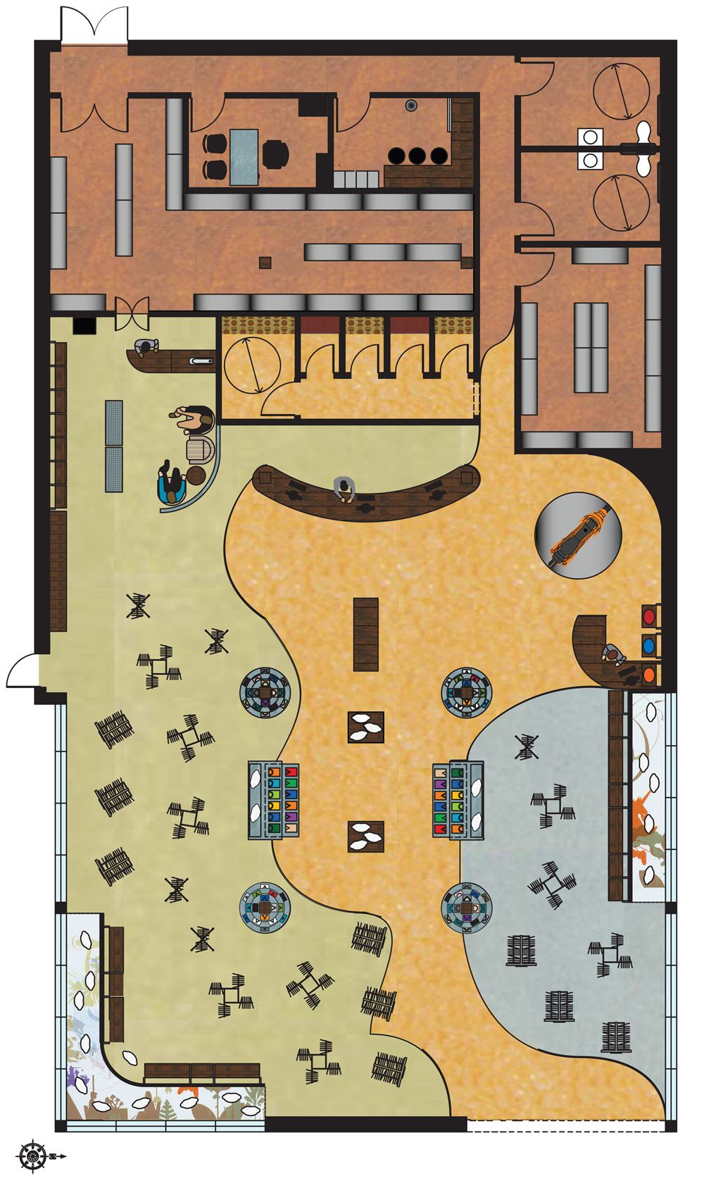 Women Clothing Stores Clothing Store Floor Plan Store Plan Retail Store Layout Store Layout