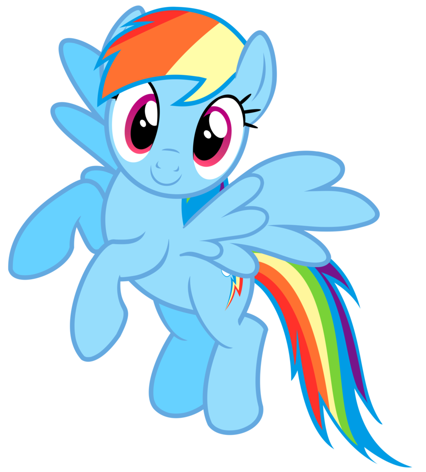 Flying Rainbow Dash Vector By Greenmachine987 My Little Pony Poster My Little Pony Pictures My Little Pony Cartoon