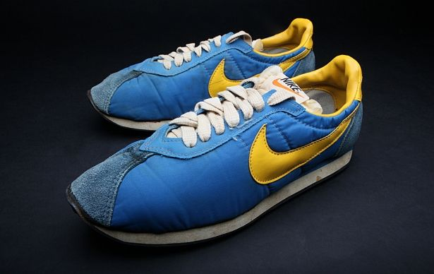 Nike waffle trainers. Wow...that's an ugly pair of shoes!...but ONLY the cool kids wore them!