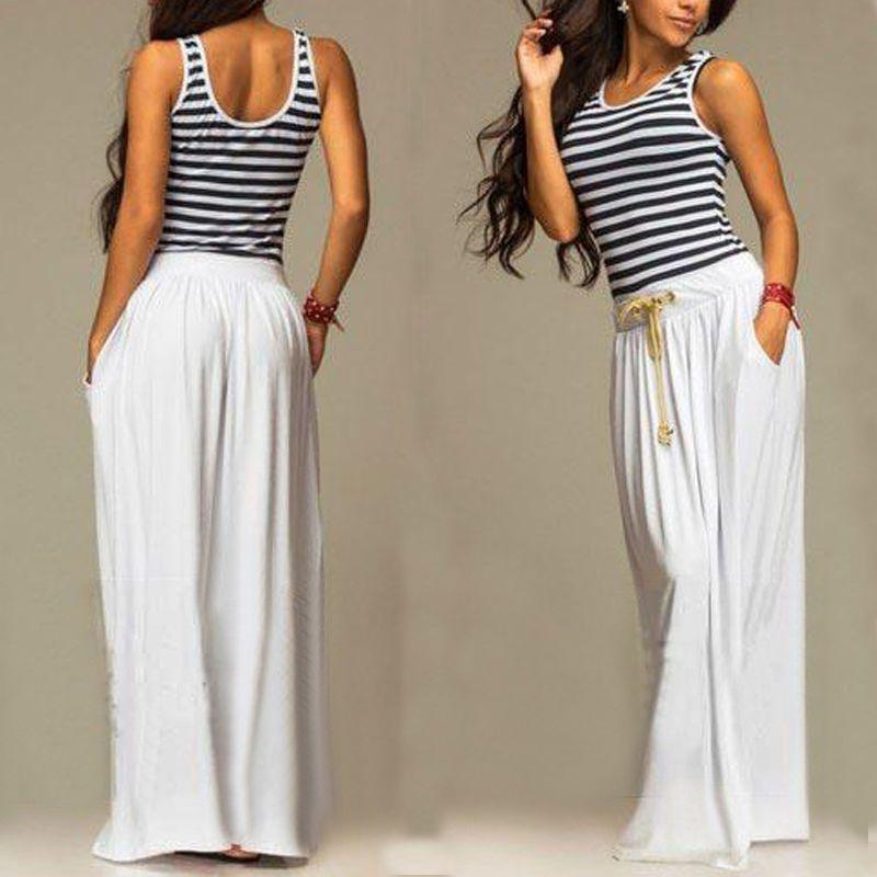 ea688eb1b6 Sexy Women Summer Boho Long Maxi Evening Party Dress Beach Dresses Chiffon  Dress