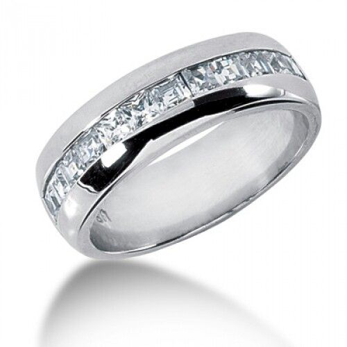 Wedding Bands For Less: Simplistic Men's Or Less Flashy Women's Engagement Ring